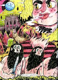 Coloring Book Interview Series 1 Kelsey Wroten