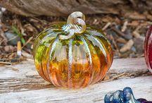 Glass Blown Pumpkins Seattle by Avalon Glassworks Avalonglass On Pinterest
