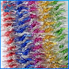 Gold Christmas Tree Tinsel Icicles by Wholesale Christmas Wired Tinsel Garland Shiny Xmas Tinsel Icicles