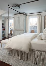 dust ruffles Bedroom Farmhouse with bed skirt dust ruffle guest