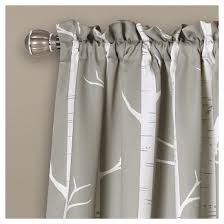 Lush Decor Window Curtains by Bird On The Tree Room Darkening Window Curtain Set Lush Décor