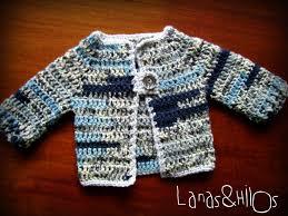 lanas hilos crochet baby sweater