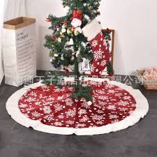 Medusa 2018 Outlet Cashmere Christmas Decoration Tree Skirt 36 Inch 50