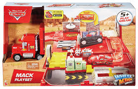 Disney/Pixar Cars Mack Action Drivers Playset, Playsets - Amazon ... Jual Mainan Mobil Rc Mack Truck Cars Besar Diskon Di Lapak Disney Carbon Racers Launcher Lightning Mcqueen And Transporter Playset Original Pixar Cars2 Toys Turbo Toy Video Review Heavy Cstruction Videos Mattel Dkv55 Protagonists Deluxe Amazoncouk Red Tayo Amazoncom Disneypixar Hauler Carrying Case 15 Charactertheme Toyworld Story Set Radiator Springs Pictures