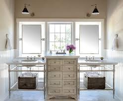 Shabby Chic White Bathroom Vanity by Burlington Bathroom Vanity Mirror Shabby Chic Style With Wall
