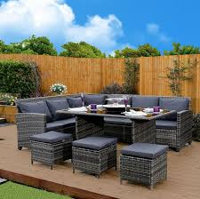 Amazon Uk Patio Chair Cushions by 32 Best Rattan Garden Furniture Sets Images On Pinterest Rattan