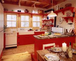 Miraculous Red Country Kitchen Designs Gen4congress