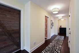 Ceiling Lights Flush Mount For Hallway Rustic Lighting Zebra Patterned Of