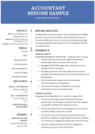 Accountant Resume Sample And Tips | Resume Genius 10 Coolest Resume Samples By People Who Got Hired In 2018 Accouant Sample And Tips Genius Templates Wordpad Format Example Resume Mistakes To Avoid Enhancv Entrylevel Complete Guide 20 Examples 7 Food Beverage Attendant 2019 Word For Your Job Application Cover Letter Counselor With No Experience Awesome At Google Adidas Cstruction Worker Writing Business Plan Paper Floss Papers Real Estate