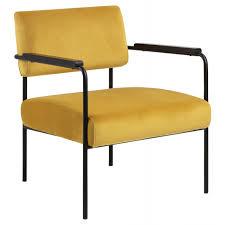 loungestuhl gelb armlehne barstuhl gepolstert metallgestell