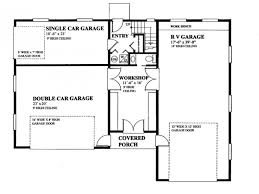 Garage Floor Plans With Work Home Desain 2018