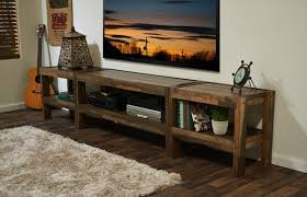 Lovely Barnwood Coffee Table Plans Rustic Pallet TV Stand And Media Console 101 Pallets