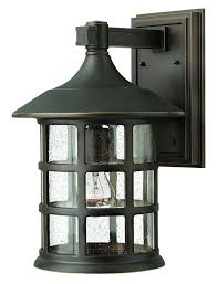 hinkley lighting 1805 1 light outdoor wall sconce from the