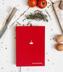 cahier de cuisine à remplir cahier de recettes familiales à remplir