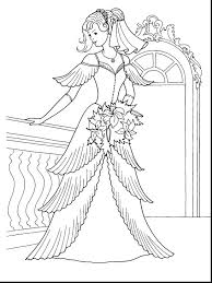 Princess Barbie Coloring Pages To Print Mariposa And The Fairy Dress Free Ballerina Popstar Games