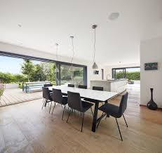 esszimmer modern mit offener küche ideen einrichtung design