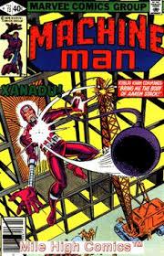 MACHINE MAN 1978 Series 13 Fine Comics Book