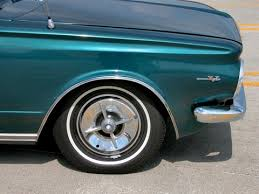 1965 Plymouth Barracuda Fender Custom Wheel Cover Dark Turquoise Poly 2005 WWWD DCTC DSCN7431