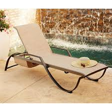 Stack Sling Patio Lounge Chair Tan by Member U0027s Mark Sling Stacking Chaise Lounge Sam U0027s Club