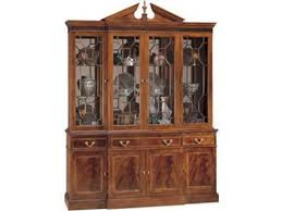 Henredon Breakfront China Cabinet by Dining Room Cabinets Feige U0027s Interiors Saginaw Bay City And