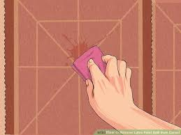 How Remove Paint From Carpet by How To Remove Latex Paint Spill From Carpet 10 Steps