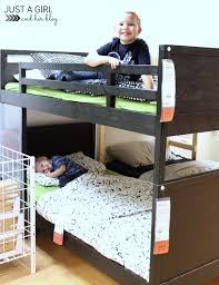 Svarta Bunk Bed by The Cs U0027 Big Boy Room The Plan Just A And Her Blog