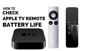 How to Check Apple TV Remote Battery Life Apple TV Hacks