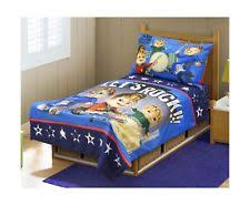 Toddler Bedding Set Alvin The Chipmunks Blue Navy 4 Piece Bed Kids