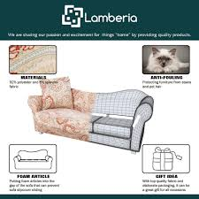 Sofa Slip Covers Uk by Amazon Com Lamberia Spandex Fabric Stretch Sofa Slipcover Couch