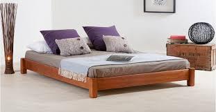 Low Platform Bed No Headboard