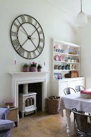 mur de cuisine decoration mur cuisine mur horloge gacante pas cher pendule murale