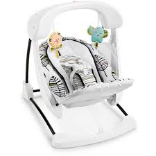 Fisher-Price Deluxe Take-Along Swing & Seat - Mattel - Babies