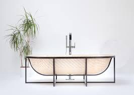 100 Tal Design Engels Otaku Bathtub Is Woven From Wood