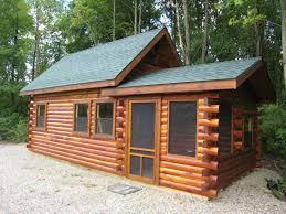 Small Amish Cabin Kits Small Modular Prefab Homes Kits Amish Log