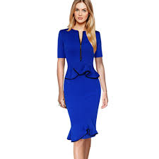 popular blue sheath dress buy cheap blue sheath dress lots from