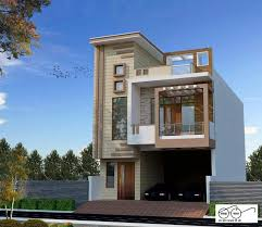 100 Designs Of Modern Houses House Front Elevation For Double Floor In India