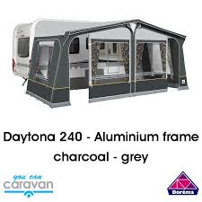 Dorema Daytona Charcoal/grey Awning - Aluminium Frame | You Can ... Awning Zips Bromame Caravan Size Chart Dorema Awning Annexe Caravan Sirocco Royal 350 Deluxe Permanent Pitch Youtube Exclusive Xl 300 3m Size In And Wear Seasonal Sizes Calypso 13 In Nottingham Nottinghamshire