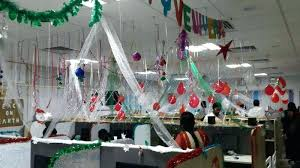 Cubicle Decoration Themes India by Bay Decoration In Office For New Year Bay Decoration Ideas In