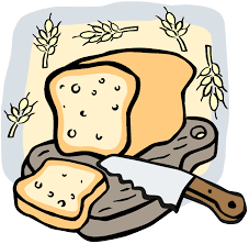 Baked bread clipart