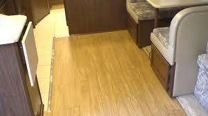 Best Type Of Flooring For Rv by How To Replace Carpet With Allure Wooden Planks In An Rv