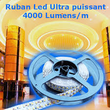 led ultra puissant blanc naturel 240 leds m 4000 lumens