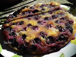 dessert aux raisins frais le journal gourmand de sacha gâteau renversé au miel et raisin frais