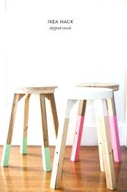 Wood Chair Ikea Wooden Dipped Stools For Hack Stool Rocking Dining Room Chairs