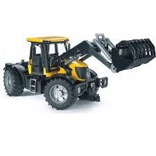 100 Bruder Trucks Frontloader JCB Fasttrac Vehicle Toys By 03031