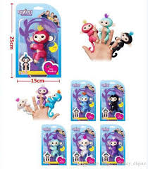 Pre Sale Fingerlings Interactive Baby Monkey Finger Toys Electronic Smart Touch Fingers For Wedding Decorated Cheap Felt Puppet