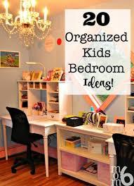 20 Organized Kids Bedroom Ideas