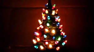 Ebay Christmas Trees With Lights by Christmas Ceramic Christmas Tree With Lights New On Sale Ebay 82