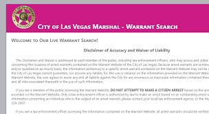 Bench Warrants In Florida by Las Vegas Warrant Search Check Arrest Warrants In Las Vegas