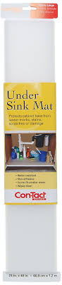 amazon com con tact brand non adhesive under sink mat 24 inches