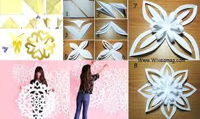 Diy Paper Wall Art Decor Ideas Conversant Images On Using Metallic Made From Scrapbook